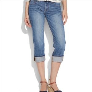 Lucky Brand Easy Rider Crop Woman's Jean Size 2/26